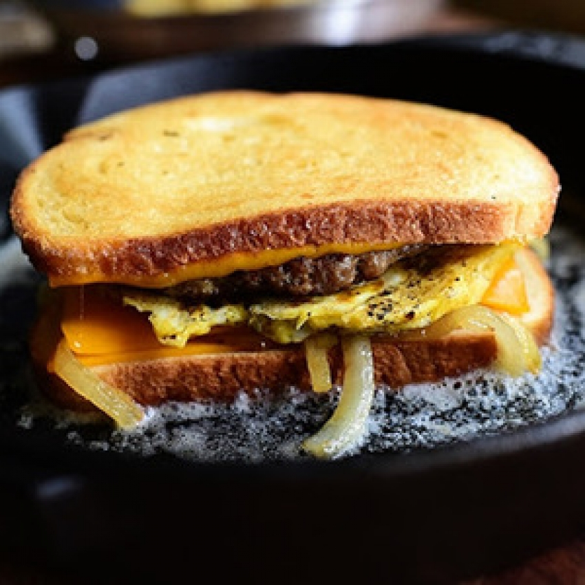 Breakfast Patty Melt recipes