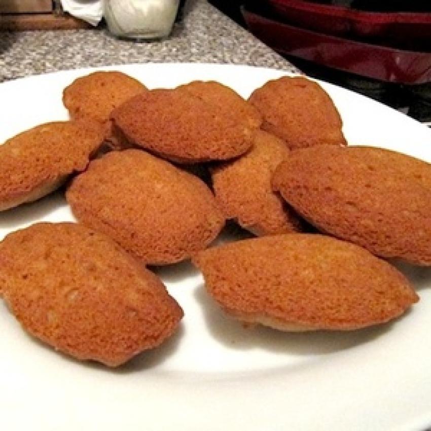 Gluten-Free French Madeleines
