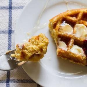 Gluten-Free Cornbread Waffles