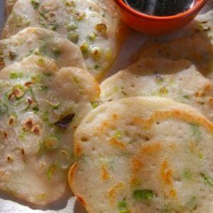 Gluten-free Scallion Pancakes
