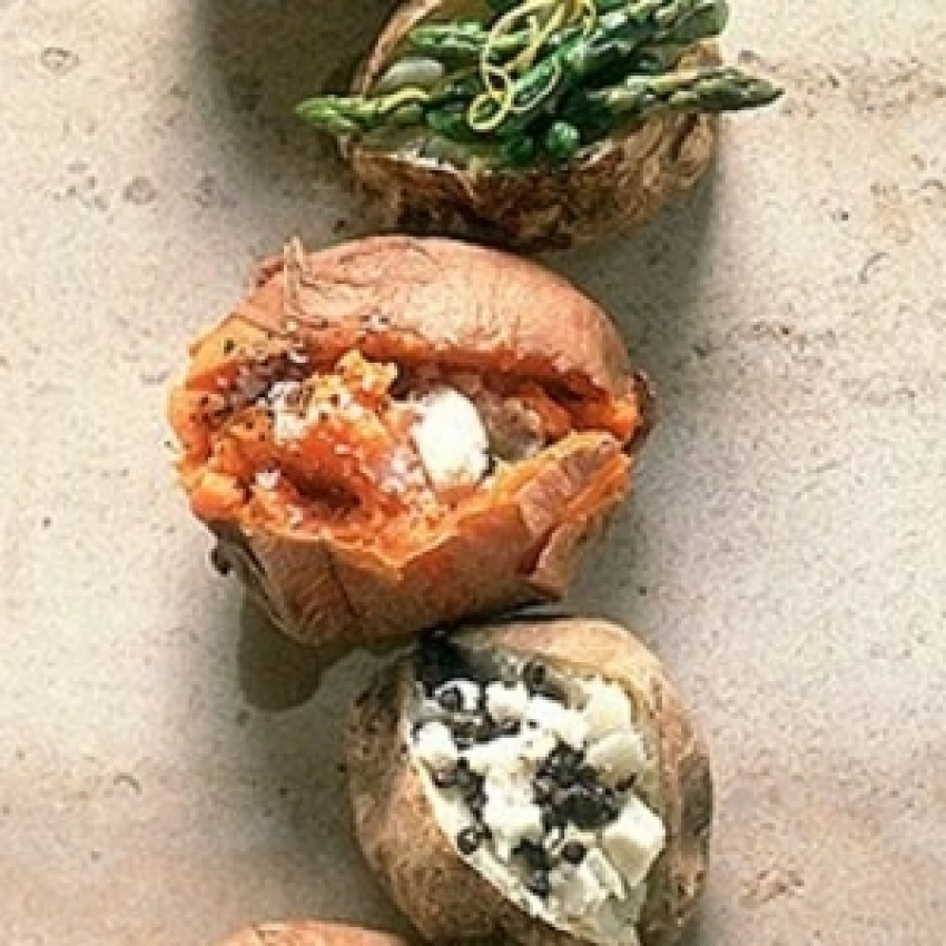 Baked Potato Snack recipes