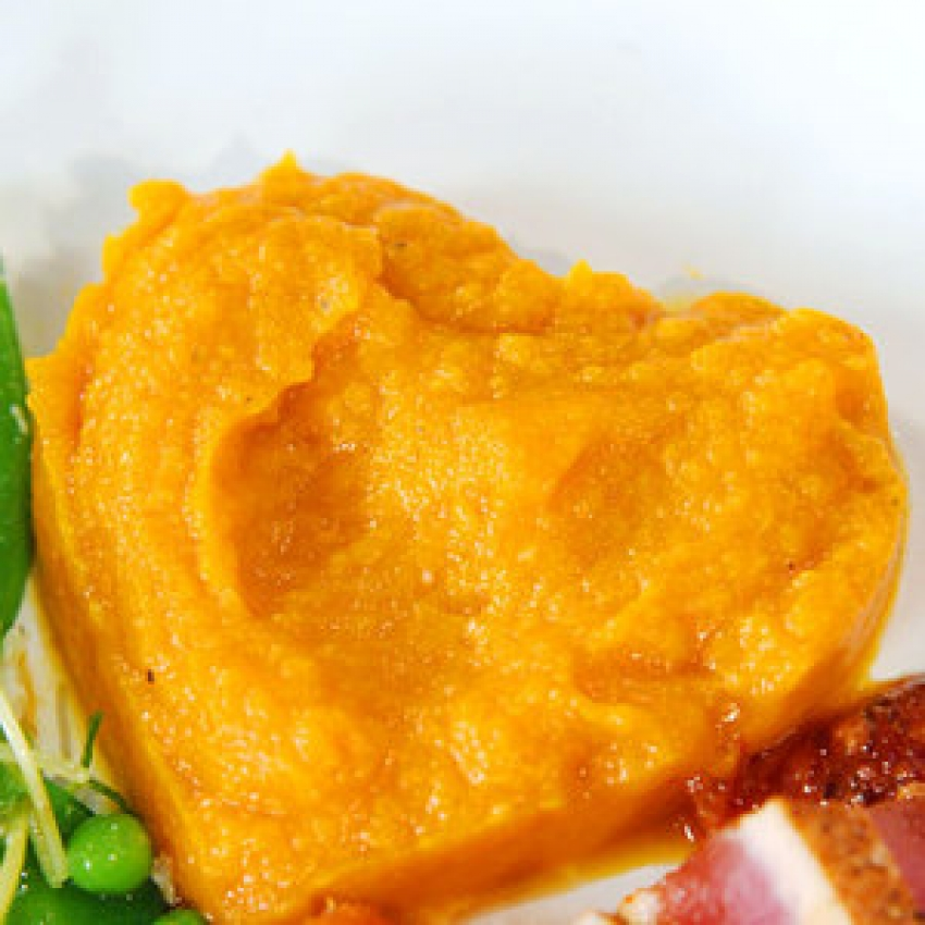 Silky Miso Sweet Potatoes