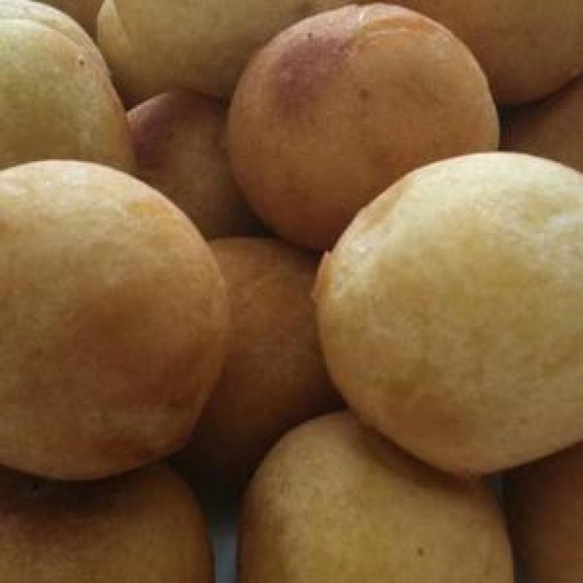 Yellow Sweet Potato Balls