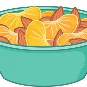 Orange and Almond Snack