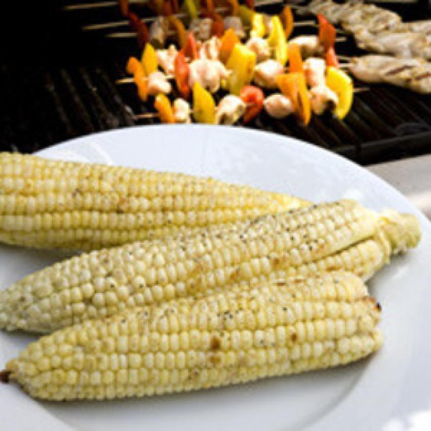 Basic Grilled Sweet Corn Recipe