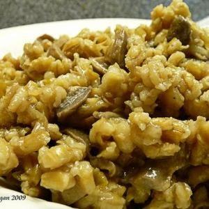 Mushroom-Barley Side Dish