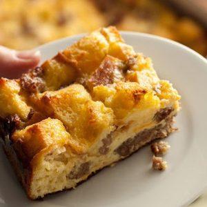 Cheesy Sausage Breakfast Casserole recipes