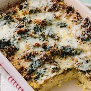 Sausage and Greens Breakfast Casserole recipes