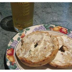 Bagel – Apple – Cheese Snack