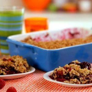 Gluten-Free Berry Crisp