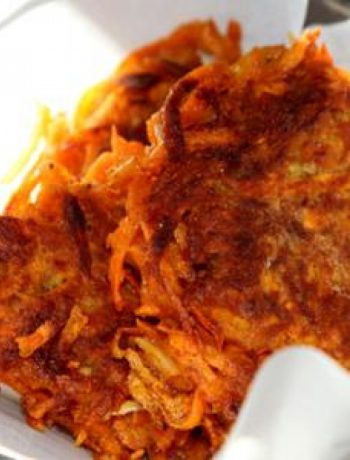 Sweet Potato Latkes – Gluten Free