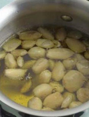 Oil-Poached-Garlic Puree & Roasted-Garlic Oil
