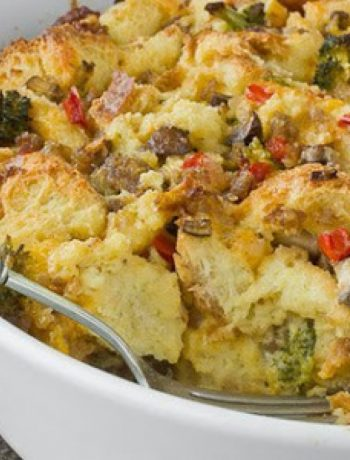 Sausage and Vegetable Breakfast Bake recipes