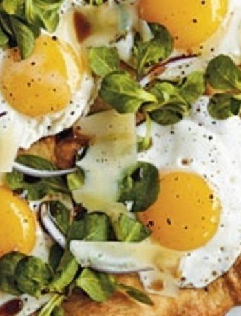 Sunny-Side-Up Pizza recipes