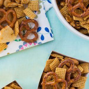 Honey-Mustard Snack Mix recipes