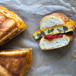 Egg, Sausage, and Cheese Bundt Breakfast Sandwich recipes