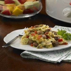 Slow-Cooker Overnight Breakfast Casserole