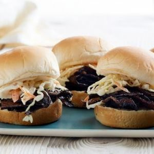"Vegan ""Pulled Pork"" Sliders"