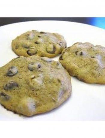 Vegan Chocolate Chip Bran Cookies