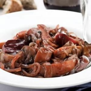 Red Wine Braised Roots