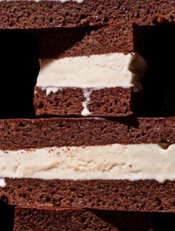 Chocolate Stout Ice Cream Sandwich