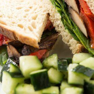 Vegan Sourdough Portobello Mushroom Sandwich recipes