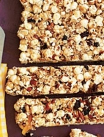 Popcorn Snack Bars recipes