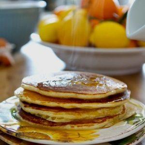 Vanilla Yogurt Pancakes