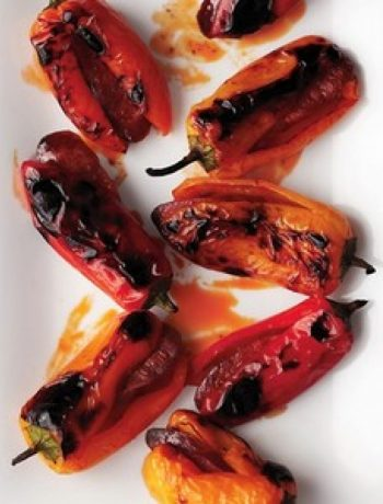 Chorizo-Stuffed Mini Sweet Peppers