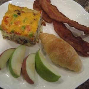 Hearty Egg and Sausage Breakfast Casserole
