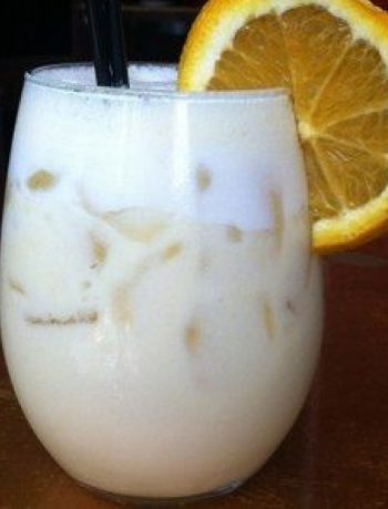The Creamsicle Drink