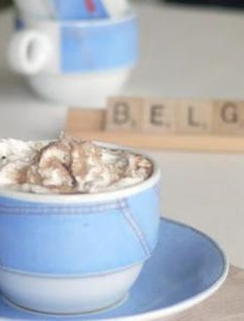 Belgian Hot Chocolate drink