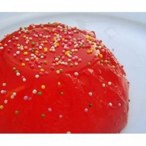 Red Jello Dessert