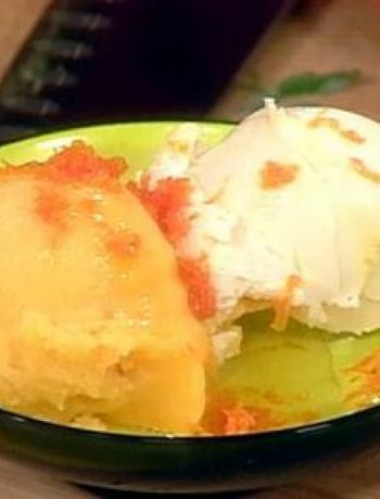 Orange Cream Liqueur Dessert