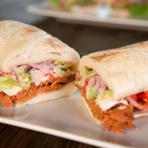 Vegan Italian Cold Cut Sandwich