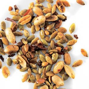 Chile Peanut and Pumpkin Seed Snack Mix recipes