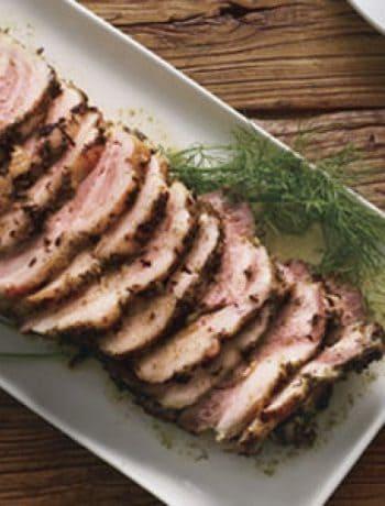 Braised Pork Shoulder with Potato-Fennel Puree