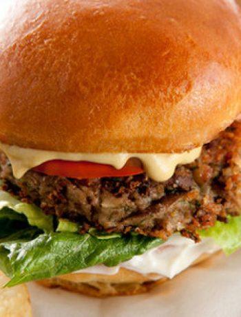 Black-Eyed Pea Vegan Burgers Recipe