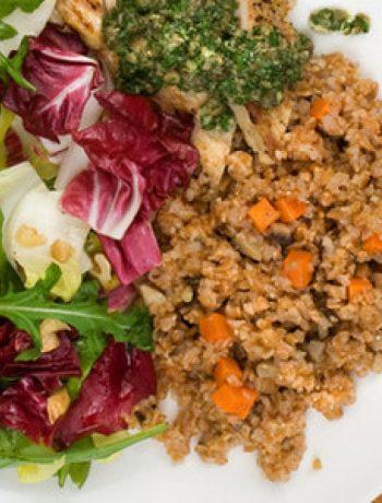 Mushroom and Carrot Bulgur Recipe
