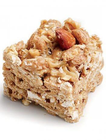Peanut-Almond Snack Bars