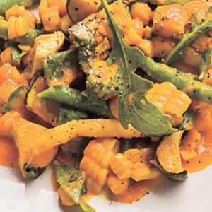 Summer Vegetable Ragout with Exotic Curry Sauce