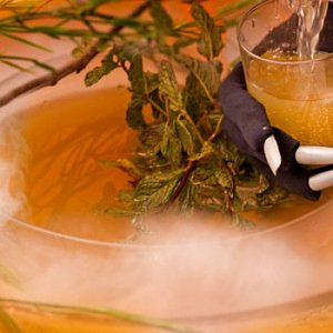 Smoking Swamp Halloween Punch Recipe