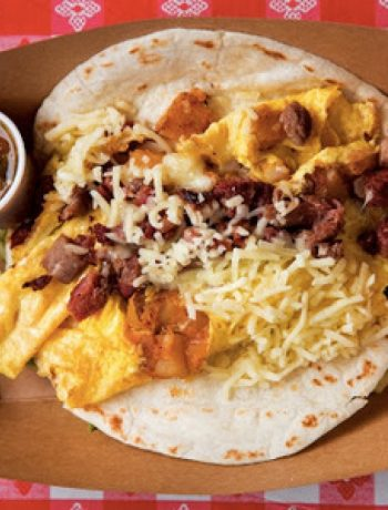 The Wrangler Breakfast Taco recipes