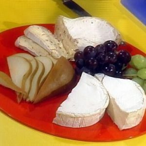 Fresh Fruits and Dessert Cheeses