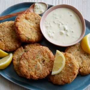 Vegan Chickpea Crab Cakes