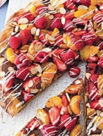 Grilled Dessert Pizza recipes