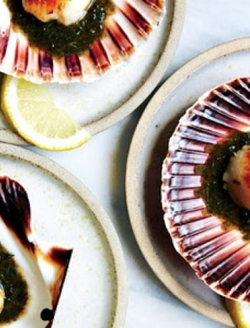 Scallops with Nori Brown Butter and Dill recipes