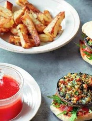 Try This Vegan Recipe For Stuffed Mushroom Burgers