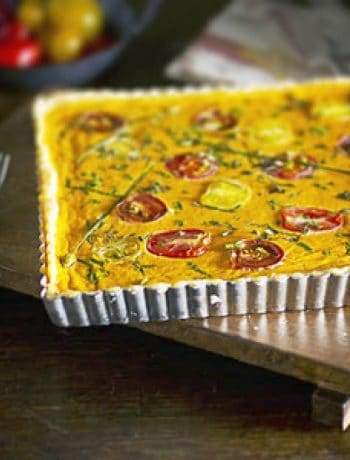 Gluten-Free Heirloom Tomato Tart