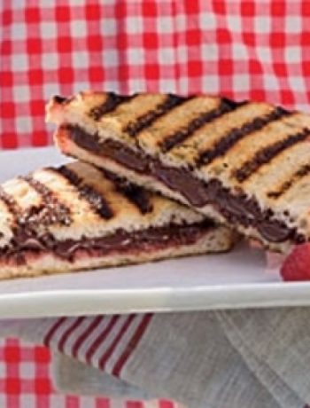 Grilled Chocolate-Raspberry Dessert Sandwiches recipes